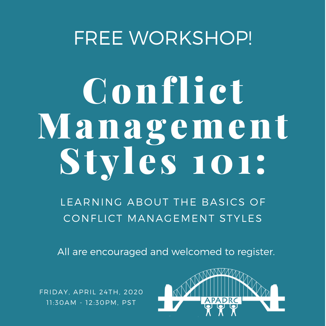 Free English Workshop: Conflict Management Styles 101