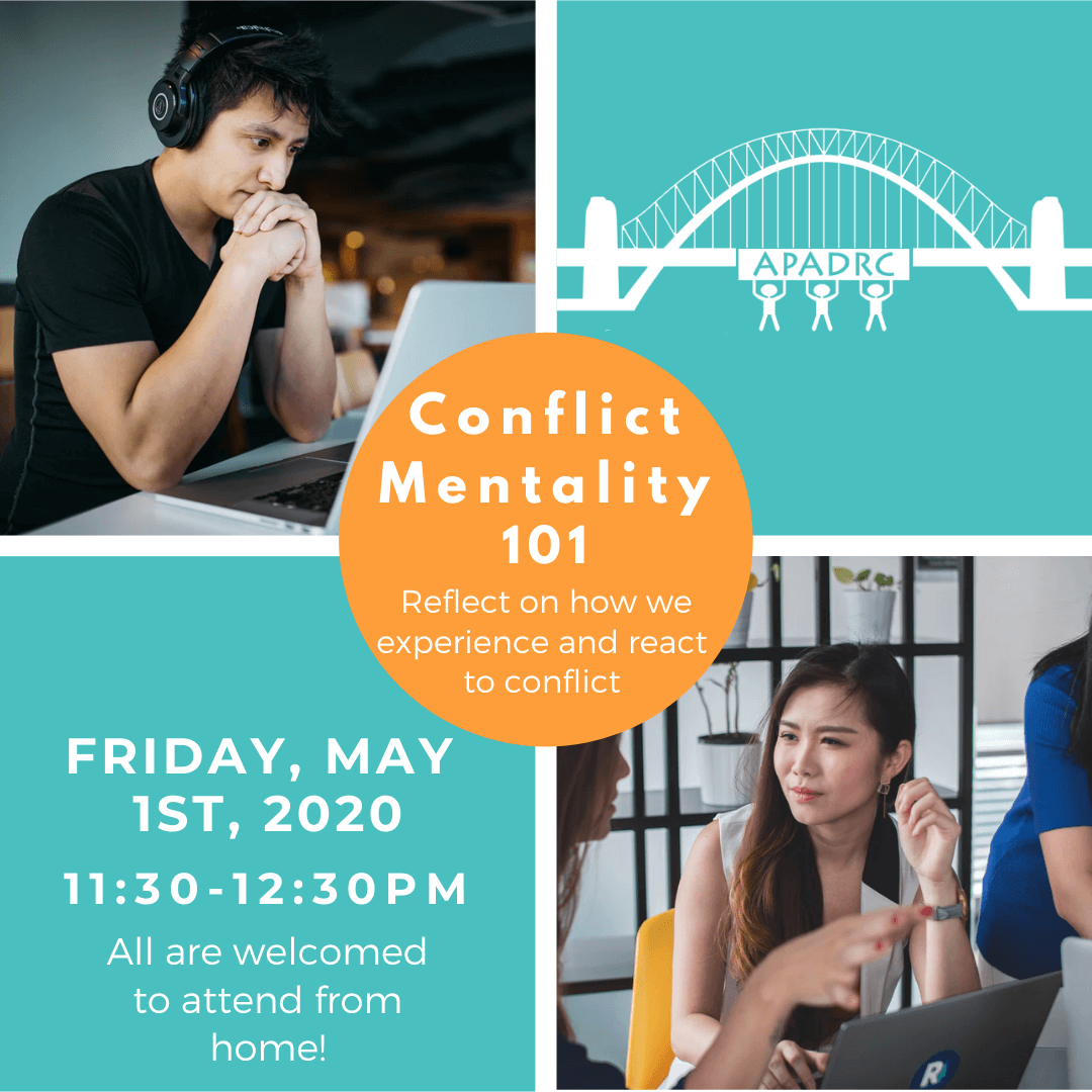 Free English Workshop: Conflict Mentality 101