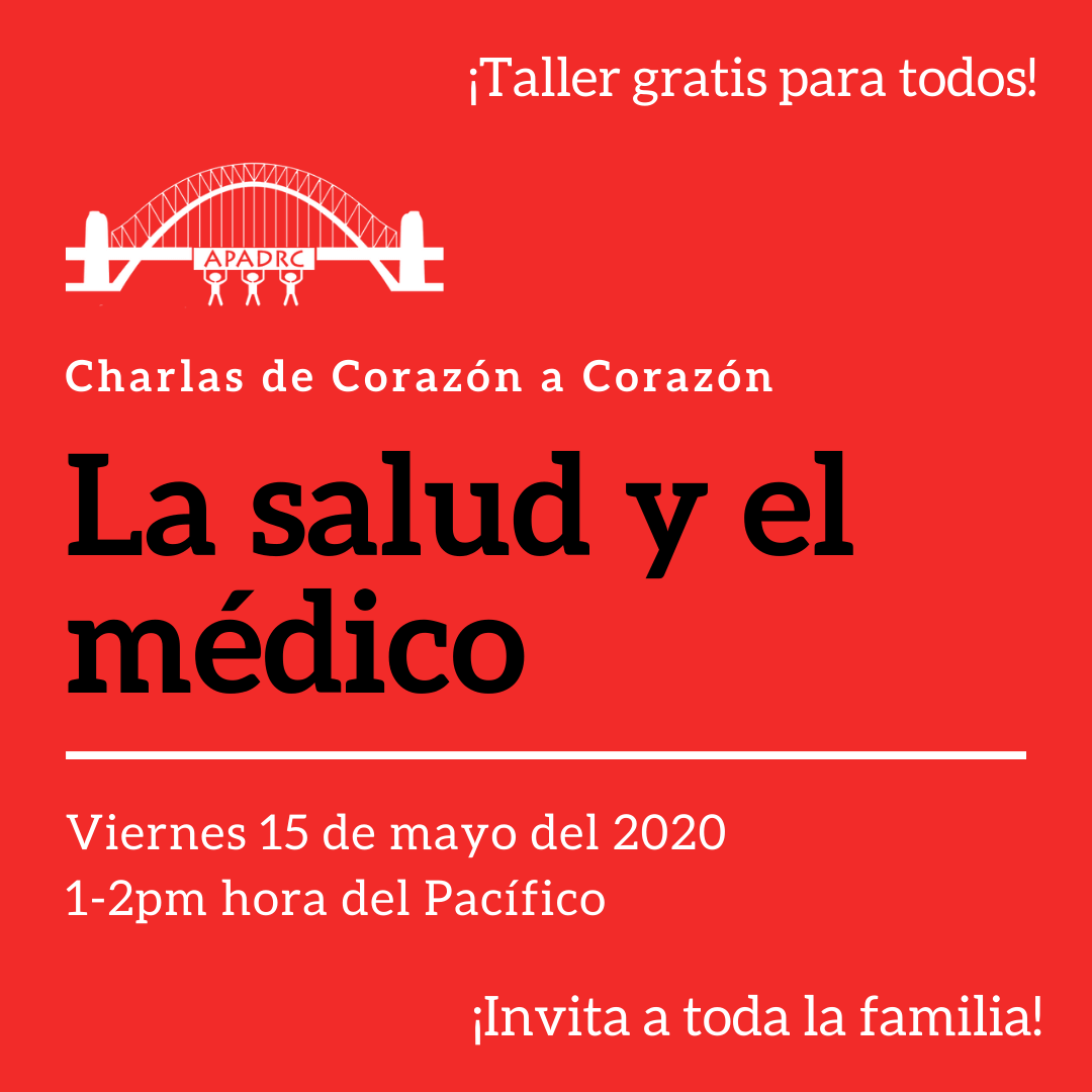 Free Spanish Workshop:  La Salud y el Médico  (Health and Doctor Visits)