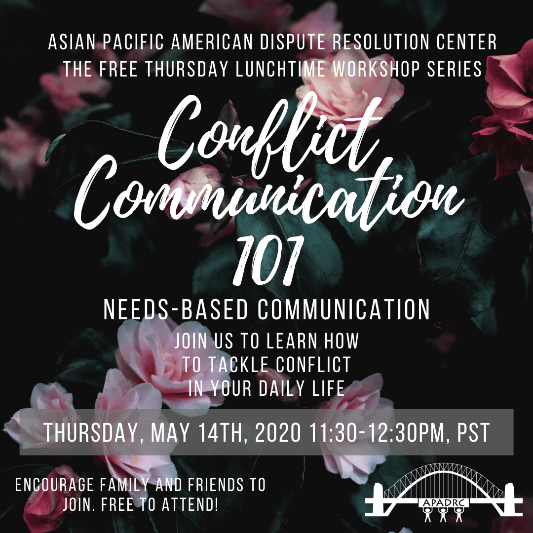 Free English Workshop: Conflict Communication 101