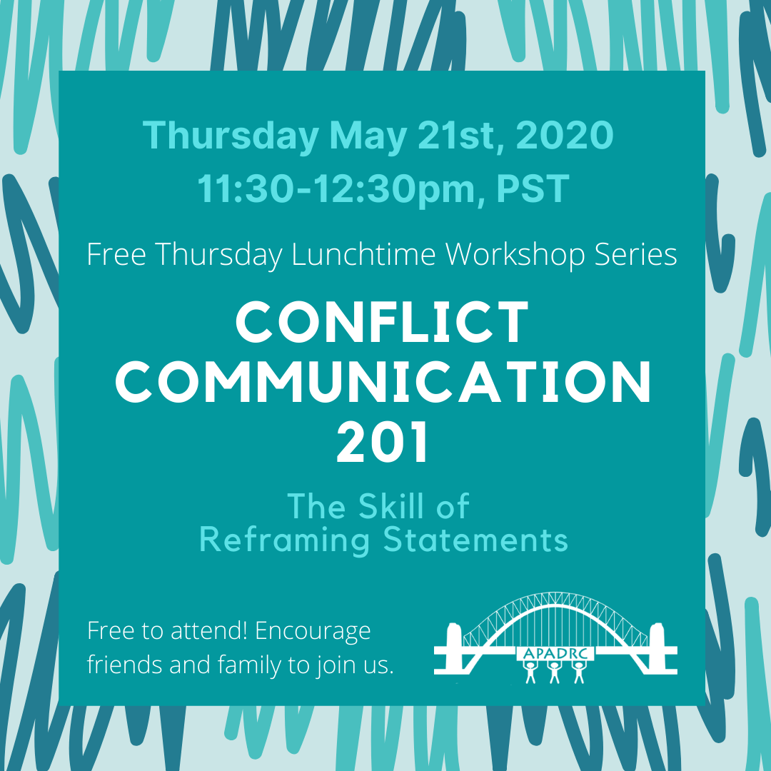 Free English Workshop: Conflict Communication 201