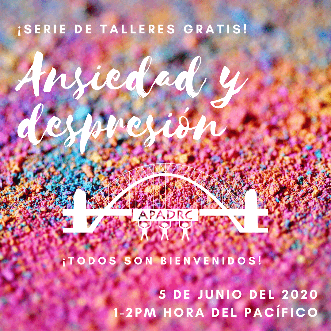 Free Spanish Workshop: Ansiedad y Depresión (Anxiety & Depression)
